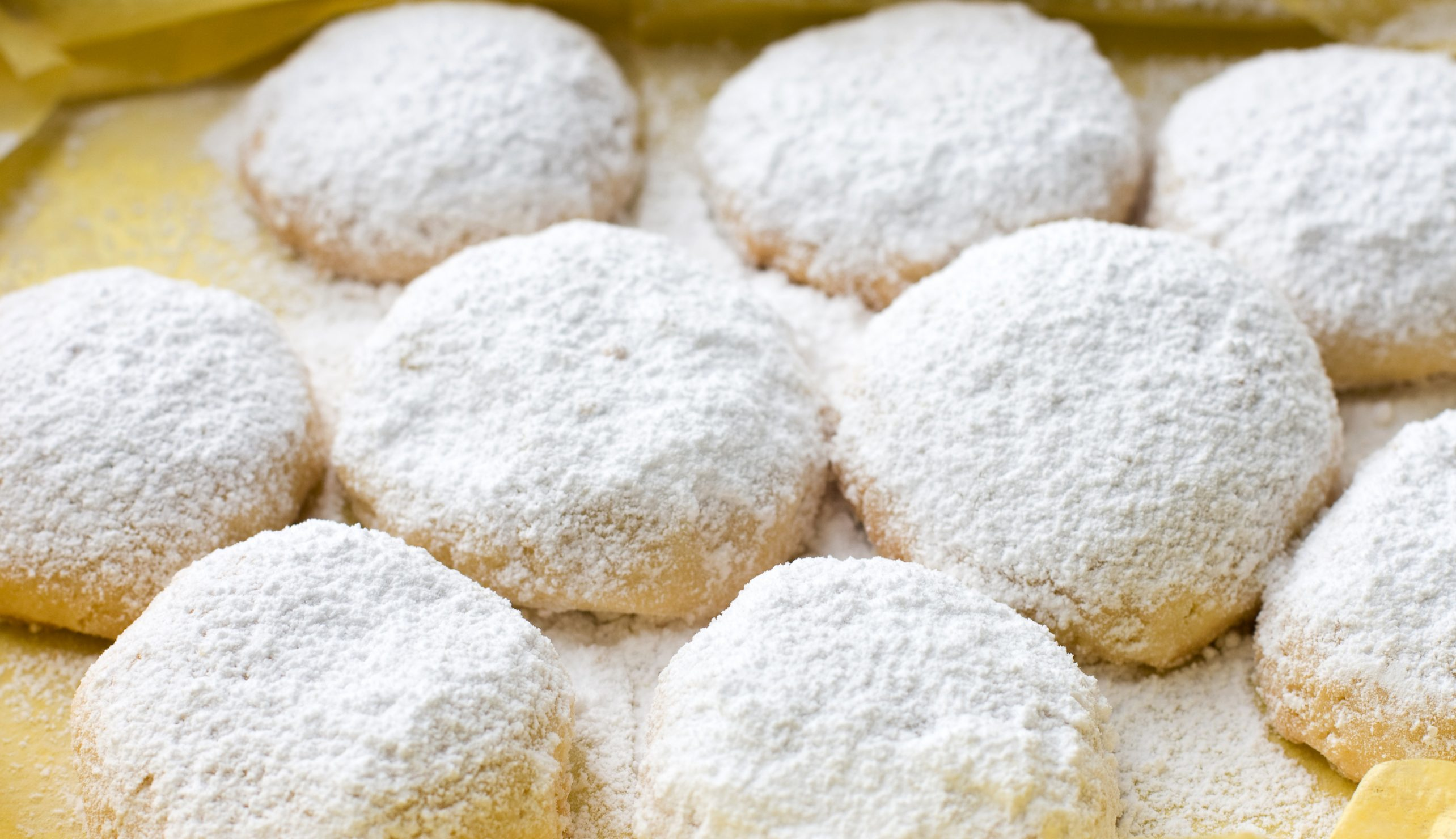 kourabiedes traditional greek christmas cookies - Greek Christmas Traditions